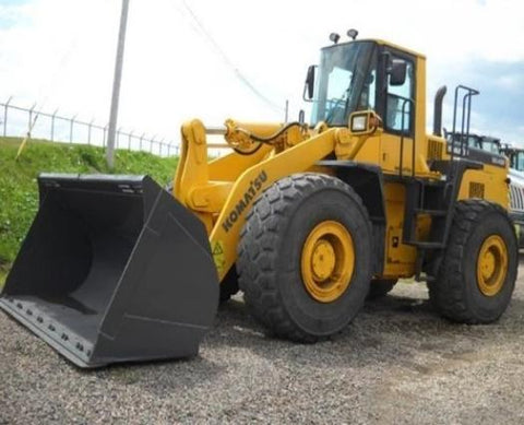 Komatsu Galeo WA450-5L WA480-5L Wheel Loader Official Workshop Service Manual