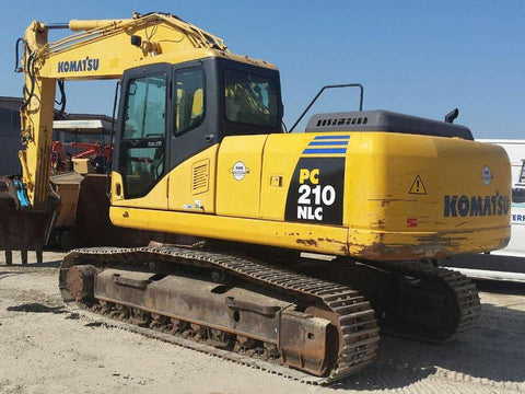 Komatsu PC210NLC-7K Hydraulic Excavator Official Workshop Service Repair Technical Manual