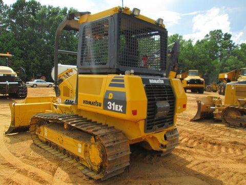Komatsu D31EX-22 D31PX-22 Bulldozer Official Workshop Service Repair Technical Manual