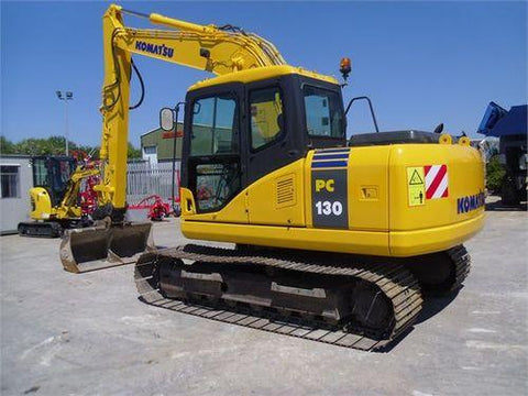 Komatsu PC130-6K PC150LGP-6K Hydraulic Excavator Official Workshop Service Manual