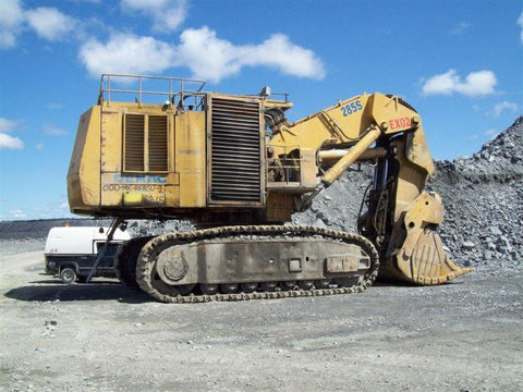 Komatsu H285S Hydraulic Shovel Official Electrical Diagram Manual