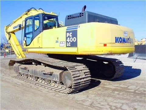 Komatsu PC400-7 PC400LC-7 Hydraulic Excavator Official Workshop Service Manual