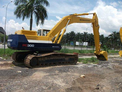 Komatsu PC300-5K PC300LC-5K Hydraulic Excavator Official Workshop Service Manual