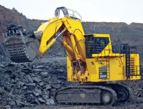 Komatsu PC3000-6 Diesel Hydraulic Excavator Official Workshop Service Repair Manual