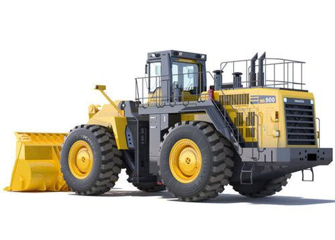Komatsu WA900-1 Wheel Loader Official Workshop Service Repair Manual