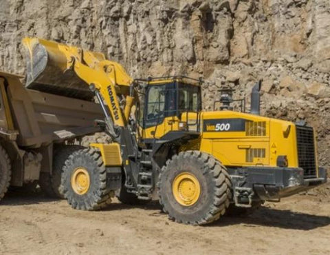 Komatsu WA500-6 Wheel Loader Official Workshop Service Repair Technical Manual