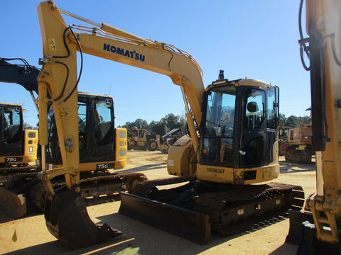 Komatsu PC78US-8 Hydraulic Excavator Official Workshop Service Repair Technical Manual