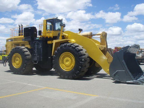 Komatsu WA900-3 Wheel Loader Official Field Assembly Manual