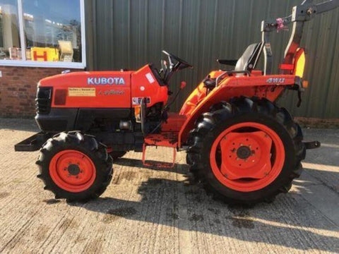 Kubota L3200 Tractor Official Assembly Instruction Manual