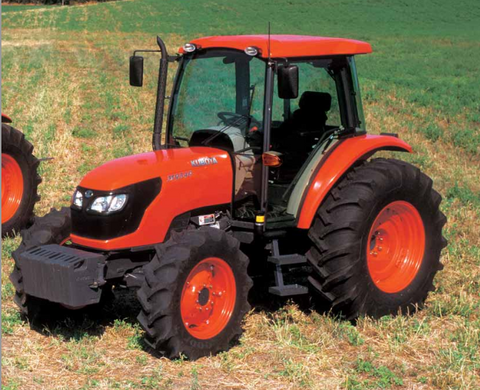 Kubota M6040 M7040 Tractor Official Flat Rate Schedule Manual