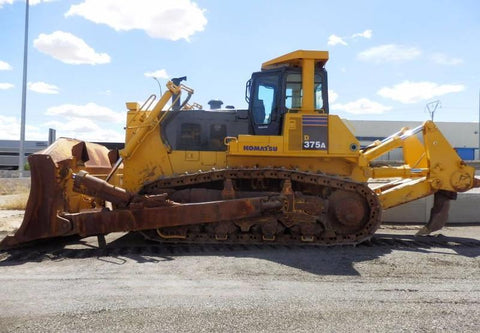 Komatsu D375A-5 Bulldozer Official Workshop Service Repair Technical Manual
