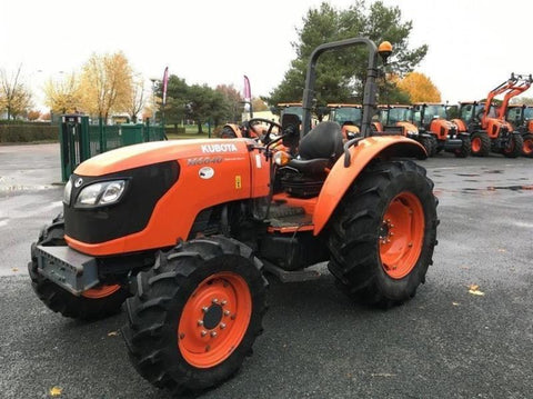 Kubota M6040 M7040 Tractor Official Workshop Service Repair Manual