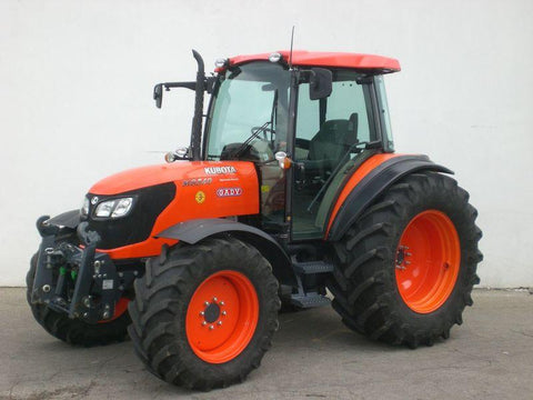 Kubota M8540 M9540 Tractor Official Flat Rate Schedule Manual