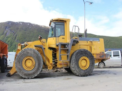 Komatsu WA500-3H Wheel Loader Official Workshop Service Repair Technical Manual