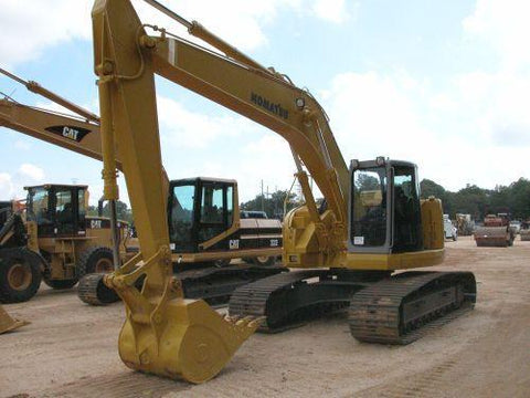 Komatsu PC228US-2 PC228USLC-1 PC228USLC-2 Excavator Official Workshop Service Manual