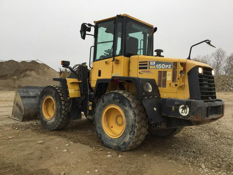 Komatsu WA150PZ-5 Wheel Loader Official Workshop Service Repair Technical Manual
