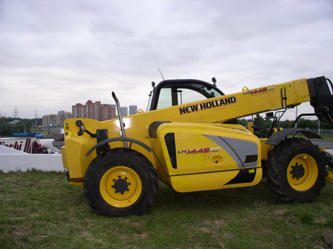New Holland LM1340 LM1343 LM1345 LM1443 LM1445 LM1745 Turbo Tier3 Telehandlers Official Workshop Service Manual