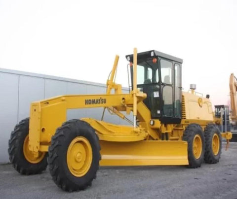 Komatsu GD530AW-2E GD530AW-2C Motor Grader Official Workshop Service Repair Manual
