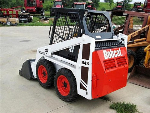 Bobcat 540 543 543b Skid Steer Loader Workshop Service Manual