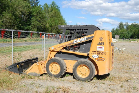 CASE 410 420 Skid Steer Loader & 420CT Compact Track Loader Service Manual (NO Tracks)