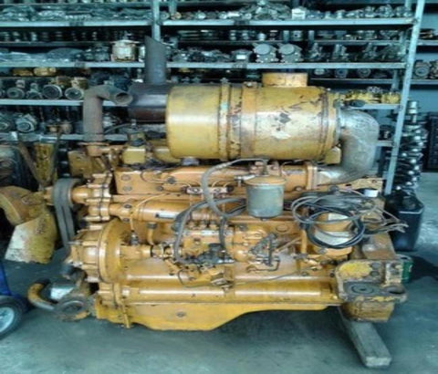 Komatsu 4D130-1 Series Diesel Engine Official Workshop Service Repair Manual