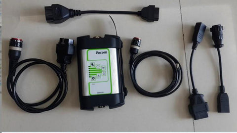 Volvo/Renault/UD/Mack - 88890300 Vocom Vcads Interface for Truck Diagnostic Adapter Kit- Include Latest PTT 2.5.87 Software & Full Online Installation Service !