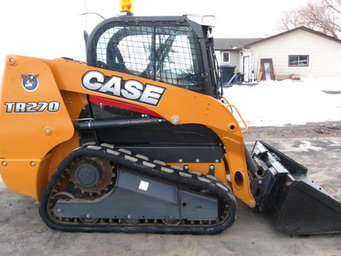 CASE TR270 TR320 TV380  Alpha Series Compact Track Loader Operator's Manual