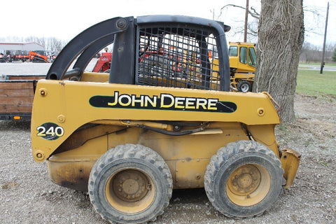 John Deere 240 & 250 Skid Steer Loader Official Workshop Service Repair Technical Manual