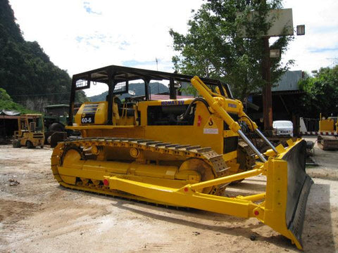 Komatsu D60A-6 D60P-6 D60PL-6 Bulldozer Official Workshop Service Repair Technical Manual