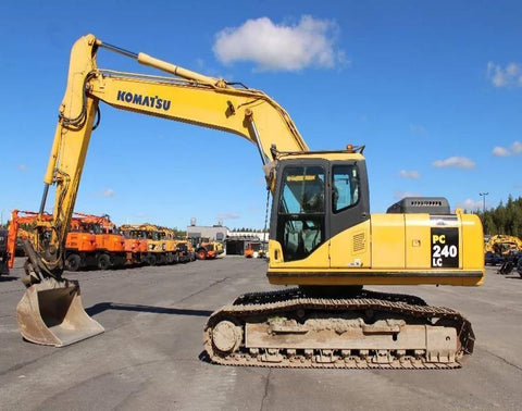 Komatsu PC240LC-7K PC240NLC-7K Hydraulic Excavator Official Workshop Service Manual