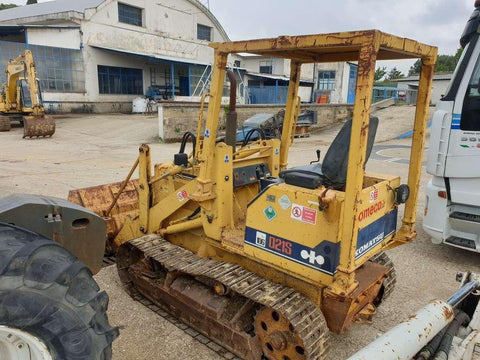 Komatsu D20S-6 D21S-6 D21S-6A Bulldozer Official Workshop Service Manual