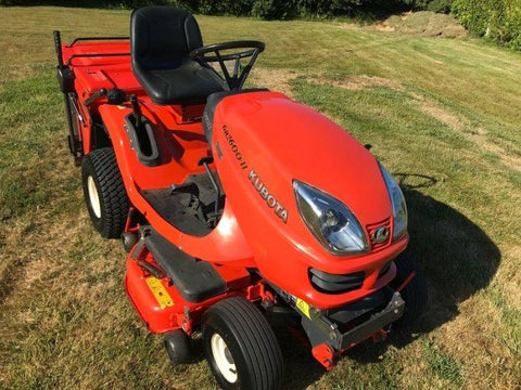 Kubota GR1600EC2 Ride On Mower Official Workshop Service Repair Manual