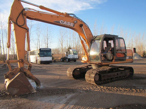 CASE CX130 CX160 Crawler Hydraulic Excavators Operators Manual