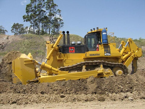Komatsu D475A-3 Palm Control Specification Bulldozer Official Workshop Service Manual #2