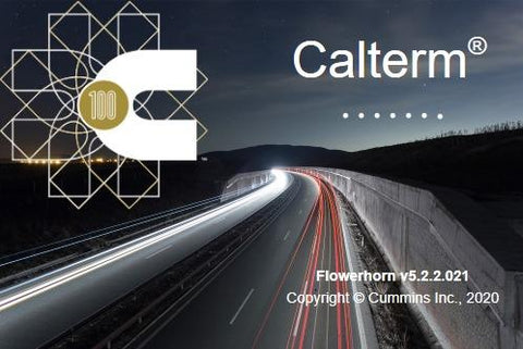 Cummings Calterm v5.2.1 & Jammer Engineering Tools For All Cummings Engines- New 2020 Version