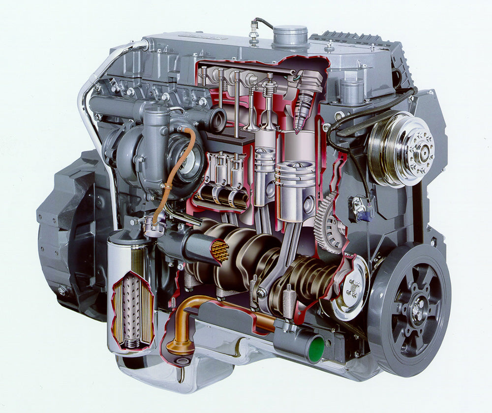 Mercedes-Benz \ Detroit Diesel MBE 900 EPA 07 Workshop
