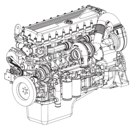 Case IH F3BE0684G*E901 F3BE0684H*E901 Engines Cursor Official Workshop Service Repair Manual