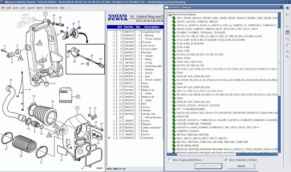 VOLVO Penta Parts Manuals Software For All Volvo Engines Up To 2016 -  Online Installation Free !! – Premium-Manual-Source | Volvo Engine Parts Diagram |  | Premium-Manual-Source