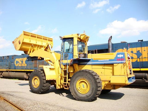 Komatsu WA500-1 Wheel Loader Official Workshop Service Repair Technical Manual