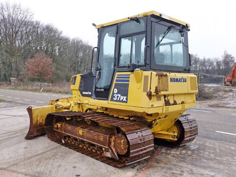 Komatsu D37EX-21 D37PX-21 Bulldozer Official Workshop Service Repair Technical Manual