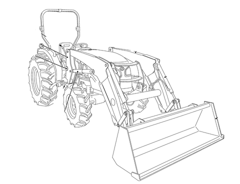 Kubota LA1065EC Front Loader Official Workshop Service Repair Manual