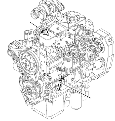 Komatsu S4D104E Series S4D104E-1 S4D104E-3 Diesel Engine Official Workshop Service Manual