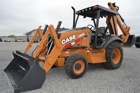 Case 580N 580SN 580SN-WT 590SN TLB Backhoe Loader Workshop Service Repair Manual