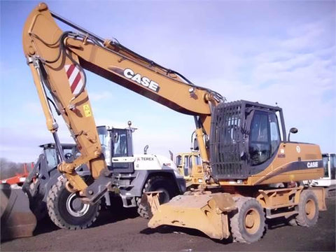 Case WX210 WX240 Wheel Excavator Factory Workshop Service Repair Manual