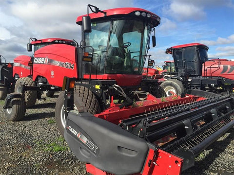 Case IH WD1504 Tier 4B (Final) Self Propelled Windrower Official Workshop Service Repair Manual