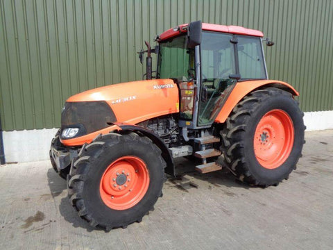 Kubota M130X Tractor Official Workshop Service Repair Manual