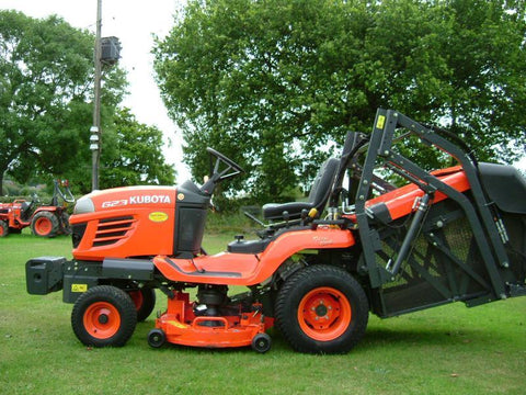 Kubota G23 G26 Ride On Mower Official Workshop Service Repair Manual