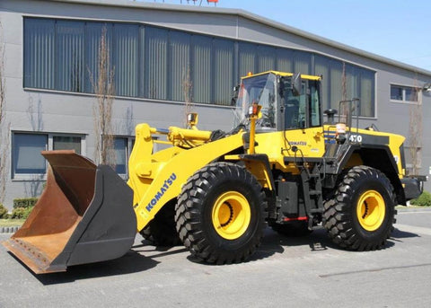 Komatsu WA470-6 WA480-6 Wheel Loader Official Workshop Service Repair Technical Manual