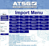 ATSG 2012 Automatic Transmission Service Group-All Models Up To 2012 - Full Software-More Then 1 Pc !