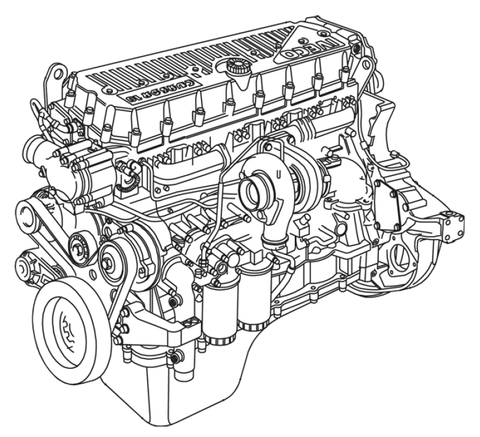 Case IH 12.9L Engine Official Workshop Service Repair Manual
